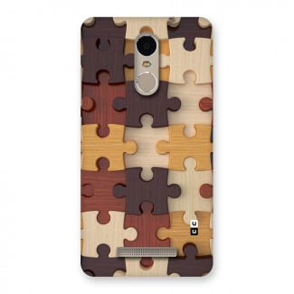 Wooden Puzzle (Printed) Back Case for Xiaomi Redmi Note 3