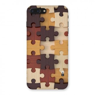 Wooden Puzzle (Printed) Back Case for iPhone 7 Plus