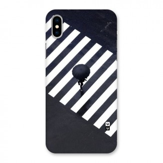 Zebra Walking Back Case for iPhone X